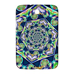 Power Spiral Polygon Blue Green White Samsung Galaxy Note 8 0 N5100 Hardshell Case  by EDDArt