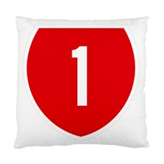 New Zealand State Highway 1 Standard Cushion Case (two Sides) by abbeyz71