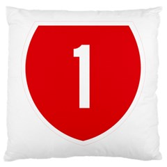 New Zealand State Highway 1 Large Cushion Case (two Sides) by abbeyz71