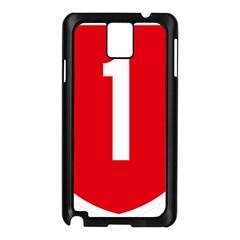 New Zealand State Highway 1 Samsung Galaxy Note 3 N9005 Case (black) by abbeyz71