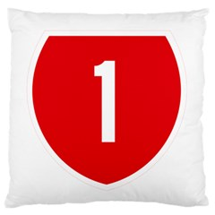 New Zealand State Highway 1 Large Flano Cushion Case (two Sides) by abbeyz71