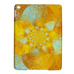 Gold Blue Abstract Blossom Ipad Air 2 Hardshell Cases by designworld65