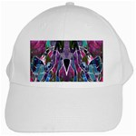 Sly Dog Modern Grunge Style Blue Pink Violet White Cap