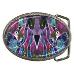 Sly Dog Modern Grunge Style Blue Pink Violet Belt Buckles