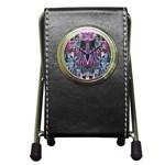 Sly Dog Modern Grunge Style Blue Pink Violet Pen Holder Desk Clocks