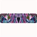 Sly Dog Modern Grunge Style Blue Pink Violet Large Bar Mats