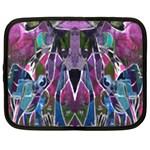 Sly Dog Modern Grunge Style Blue Pink Violet Netbook Case (XL)