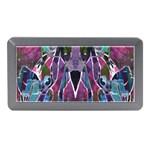Sly Dog Modern Grunge Style Blue Pink Violet Memory Card Reader (Mini)