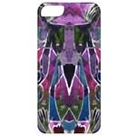 Sly Dog Modern Grunge Style Blue Pink Violet Apple iPhone 5 Classic Hardshell Case