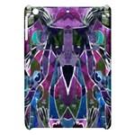 Sly Dog Modern Grunge Style Blue Pink Violet Apple iPad Mini Hardshell Case