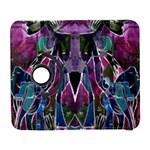 Sly Dog Modern Grunge Style Blue Pink Violet Samsung Galaxy S  III Flip 360 Case