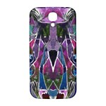 Sly Dog Modern Grunge Style Blue Pink Violet Samsung Galaxy S4 I9500/I9505  Hardshell Back Case