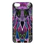 Sly Dog Modern Grunge Style Blue Pink Violet Apple iPhone 5C Hardshell Case