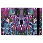 Sly Dog Modern Grunge Style Blue Pink Violet iPad Air 2 Flip