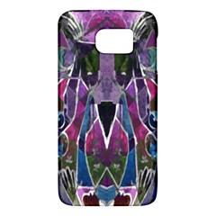 Sly Dog Modern Grunge Style Blue Pink Violet Galaxy S6 by EDDArt
