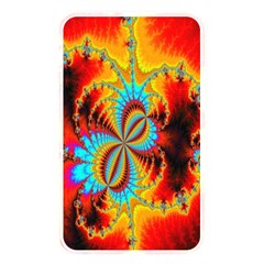 Crazy Mandelbrot Fractal Red Yellow Turquoise Memory Card Reader by EDDArt