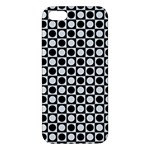 Modern Dots In Squares Mosaic Black White Apple iPhone 5 Premium Hardshell Case