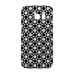 Modern Dots In Squares Mosaic Black White Galaxy S6 Edge
