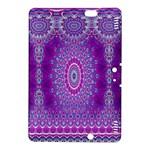 India Ornaments Mandala Pillar Blue Violet Kindle Fire HDX 8.9  Hardshell Case
