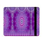 India Ornaments Mandala Pillar Blue Violet Samsung Galaxy Tab Pro 8.4  Flip Case