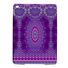 India Ornaments Mandala Pillar Blue Violet Ipad Air 2 Hardshell Cases by EDDArt