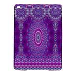 India Ornaments Mandala Pillar Blue Violet iPad Air 2 Hardshell Cases