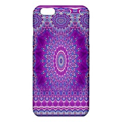 India Ornaments Mandala Pillar Blue Violet Iphone 6 Plus/6s Plus Tpu Case by EDDArt