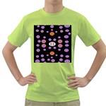 Alphabet Shirtjhjervbret (2)fvgbgnhlluuii Green T-Shirt
