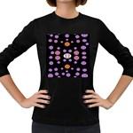 Alphabet Shirtjhjervbret (2)fvgbgnhlluuii Women s Long Sleeve Dark T-Shirts