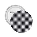 Sports Racing Chess Squares Black White 2.25  Buttons