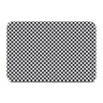 Sports Racing Chess Squares Black White Plate Mats