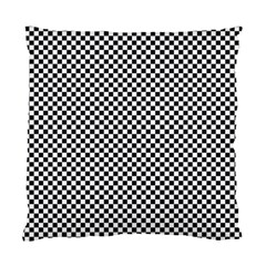 Sports Racing Chess Squares Black White Standard Cushion Case (one Side) by EDDArt