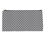 Sports Racing Chess Squares Black White Pencil Cases