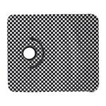 Sports Racing Chess Squares Black White Samsung Galaxy S  III Flip 360 Case