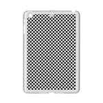 Sports Racing Chess Squares Black White iPad Mini 2 Enamel Coated Cases