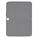 Sports Racing Chess Squares Black White Samsung Galaxy Tab 3 (10.1 ) P5200 Hardshell Case
