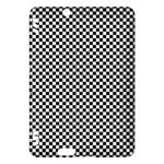 Sports Racing Chess Squares Black White Kindle Fire HDX Hardshell Case