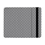 Sports Racing Chess Squares Black White Samsung Galaxy Tab Pro 8.4  Flip Case