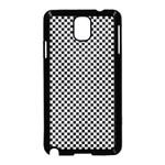 Sports Racing Chess Squares Black White Samsung Galaxy Note 3 Neo Hardshell Case (Black)