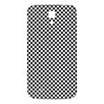 Sports Racing Chess Squares Black White Samsung Galaxy Mega I9200 Hardshell Back Case