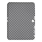 Sports Racing Chess Squares Black White Samsung Galaxy Tab 4 (10.1 ) Hardshell Case