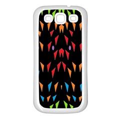 ;; Samsung Galaxy S3 Back Case (white) by MRTACPANS