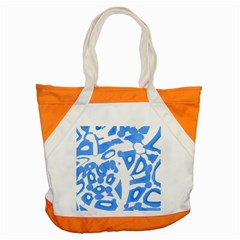 Blue Summer Design Accent Tote Bag by Valentinaart