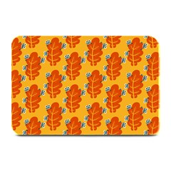 Bugs Eat Autumn Leaf Pattern Plate Mats by CreaturesStore