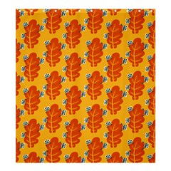 Bugs Eat Autumn Leaf Pattern Shower Curtain 66  X 72  (large)  by CreaturesStore
