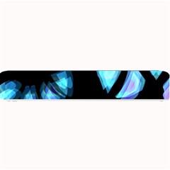 Blue Light Small Bar Mats by Valentinaart