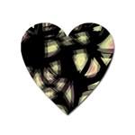 Follow the light Heart Magnet