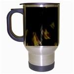 Follow the light Travel Mug (Silver Gray)