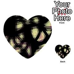 Follow The Light Multi Purpose Cards (heart)  by Valentinaart