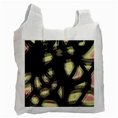 Follow The Light Recycle Bag (one Side) by Valentinaart